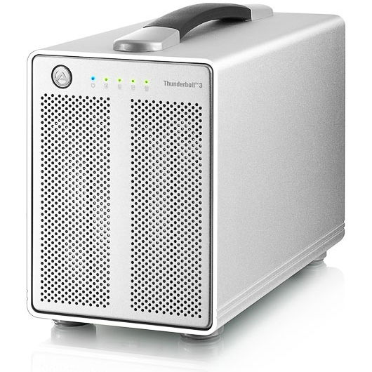 AKiTiO Thunder3 Quad-Dit Thunderbolt product is niet compatibel met Mac OS